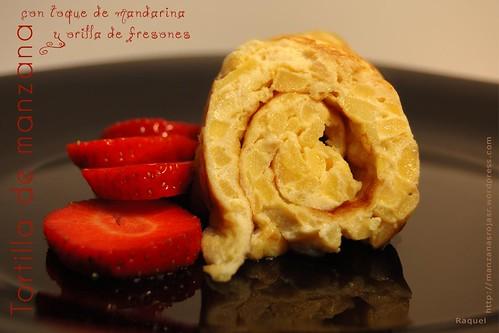 Tortilla de manzana
