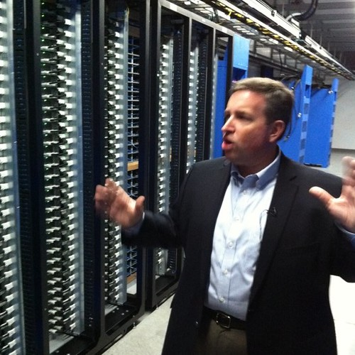 Tom Furlong gives us our first look at Open Compute servers at Facebook datacenter.