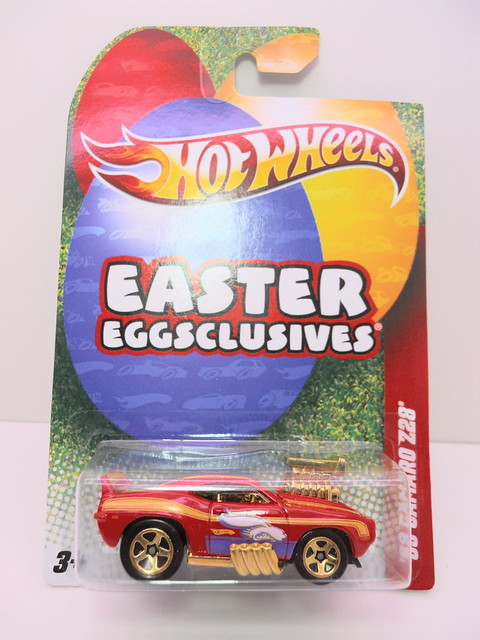hot wheels easter eggsclusive '68 camaro z28 (1)