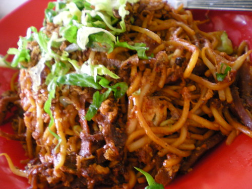 Fried noodles - Indian style