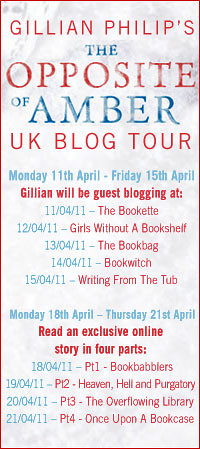 Gillian Philip's blog tour