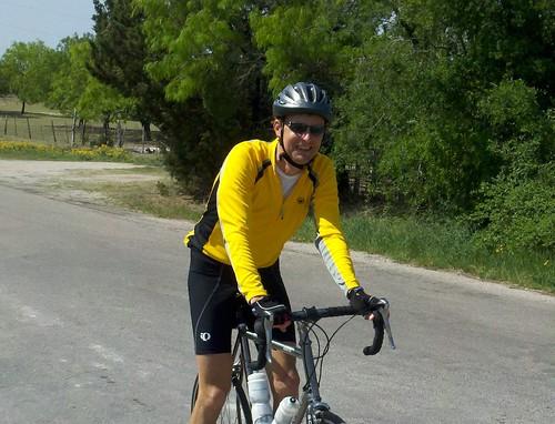 Chas on The Road Near Burnet TX