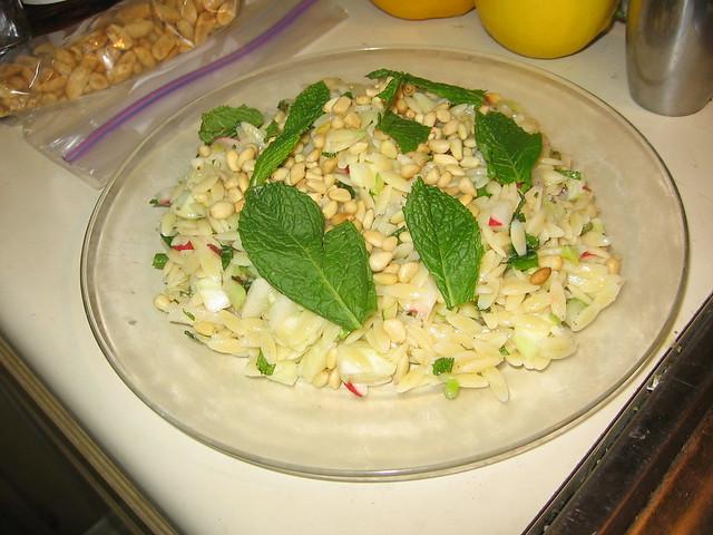 Orzo salad