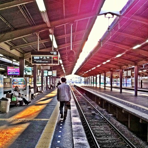 いまから電車乗って帰るよーーー! #Tenri #evening