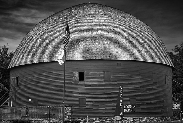 Historic Round Barn in Arcadia, OK on Route 66