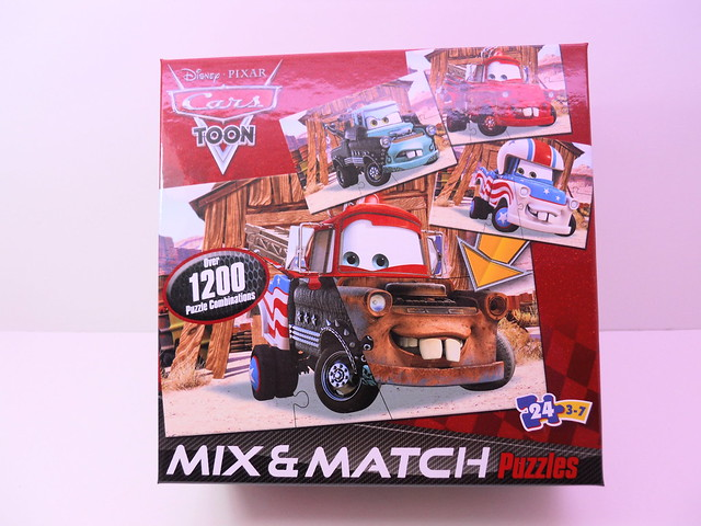 disney cars mix n match puzzle