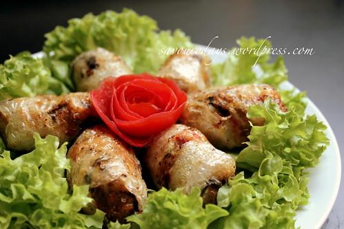 Nem rán (Vietnamese spring rolls)