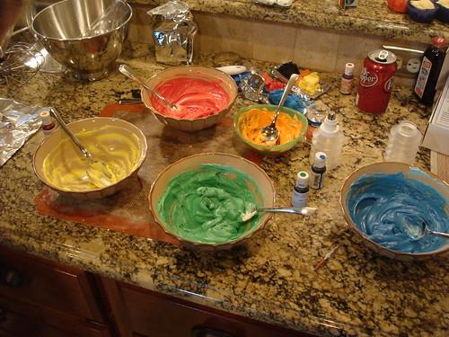food color extravaganza