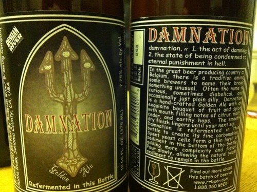 Nothin like a good damnation...