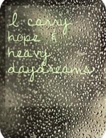 hope & heavy daydreams. ||32:52||