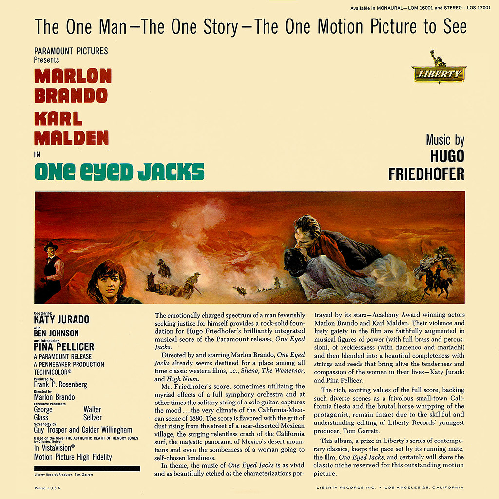 Hugo Friedhofer - One-Eyed Jacks