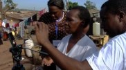 Bukeni Waruzi, WITNESS, training with Kodak Zi8, Uganda 2010