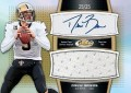 2011 Topps Finest Drew Brees Autograph Jumbo Jersey Card