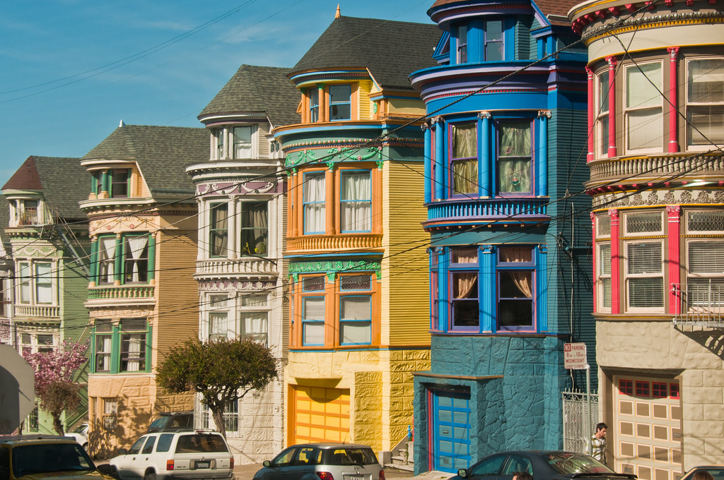 Some houses in San Francisco