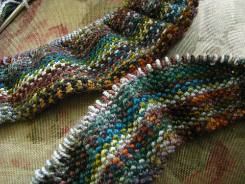 Linen Stitch vs Weave Shop Sample
