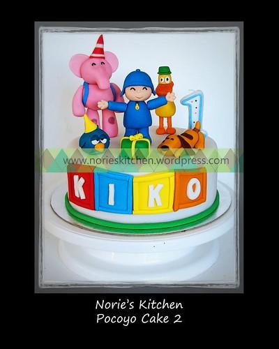 Norie's Kitchen - Pocoyo Cake
