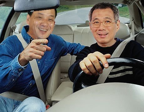 Low Thia Khiang and Lee Hsien Loong in an utopian world