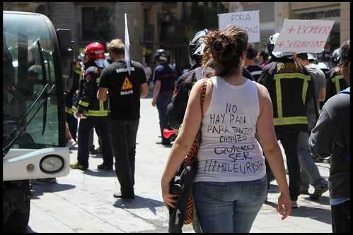 Indignada a Barcelona by joancg