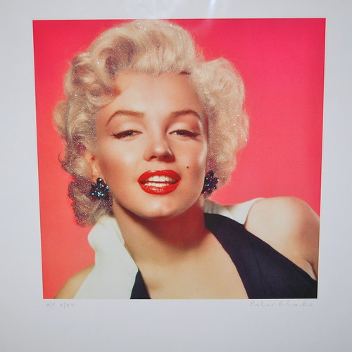 Diamond Dust Marilyn, by Sir Peter Blake