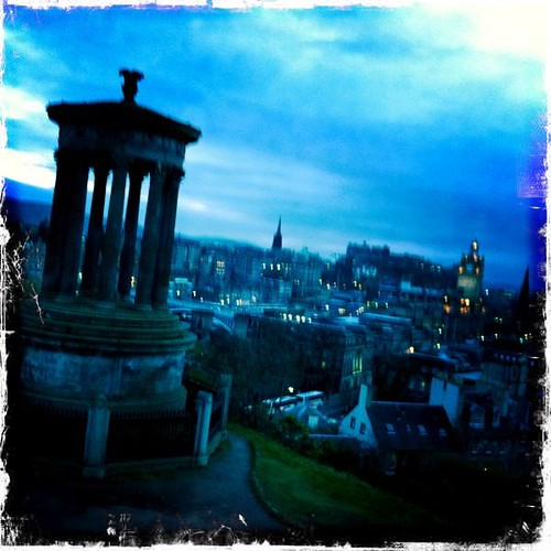 Calton Hill Hipstamatic