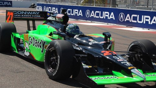 Mike Conway during Friday practice