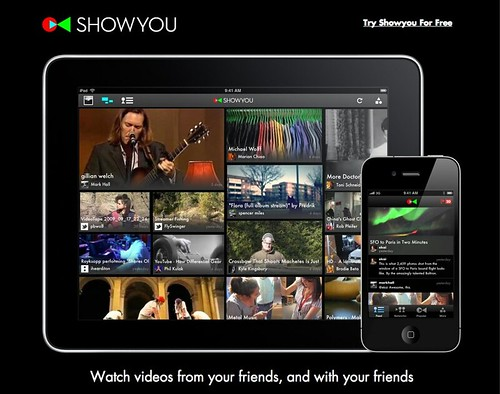 Showyou: Watch videos from your friends