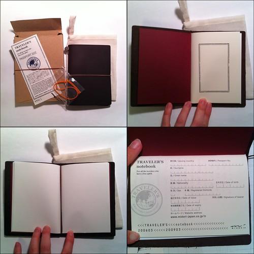 Midori Traveler's Notebook - Passport size (1/5)