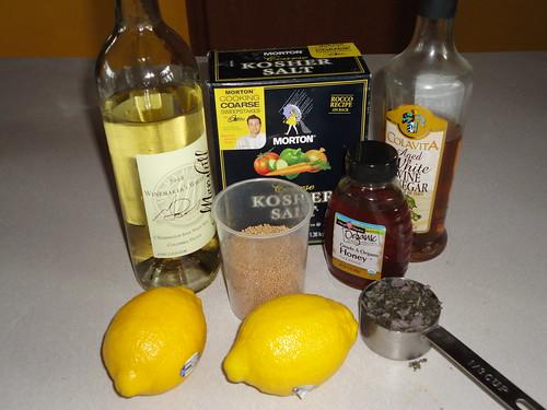 Sage white wine mustard ingredients