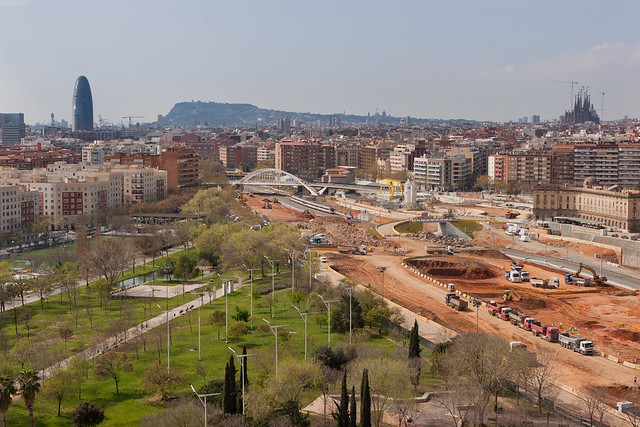 Zona futura estación de La Sagrera - 30-03-11