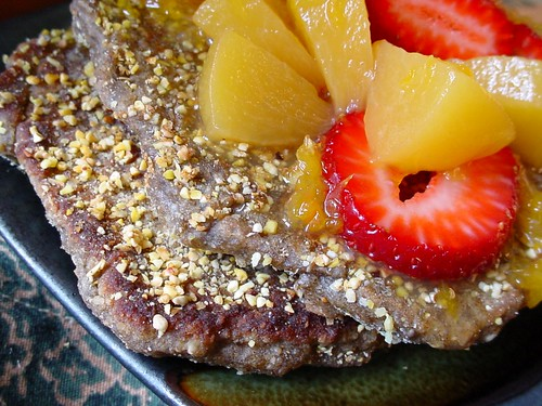 Hempmeal-Chia Seed Pancakes