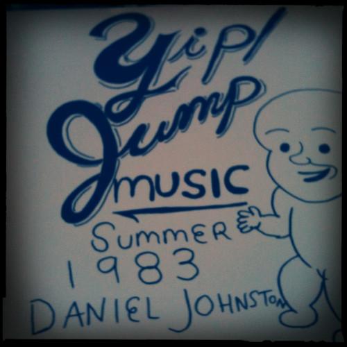 Cover of Daniel Johnston CD