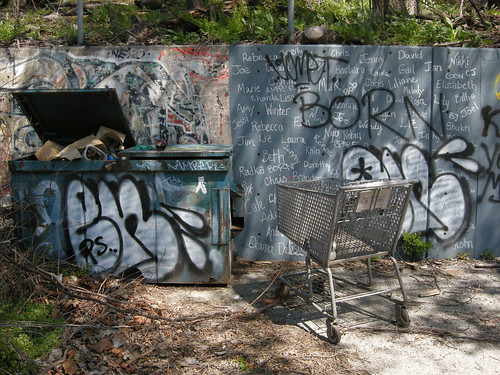 graffiti + grocery cart 3