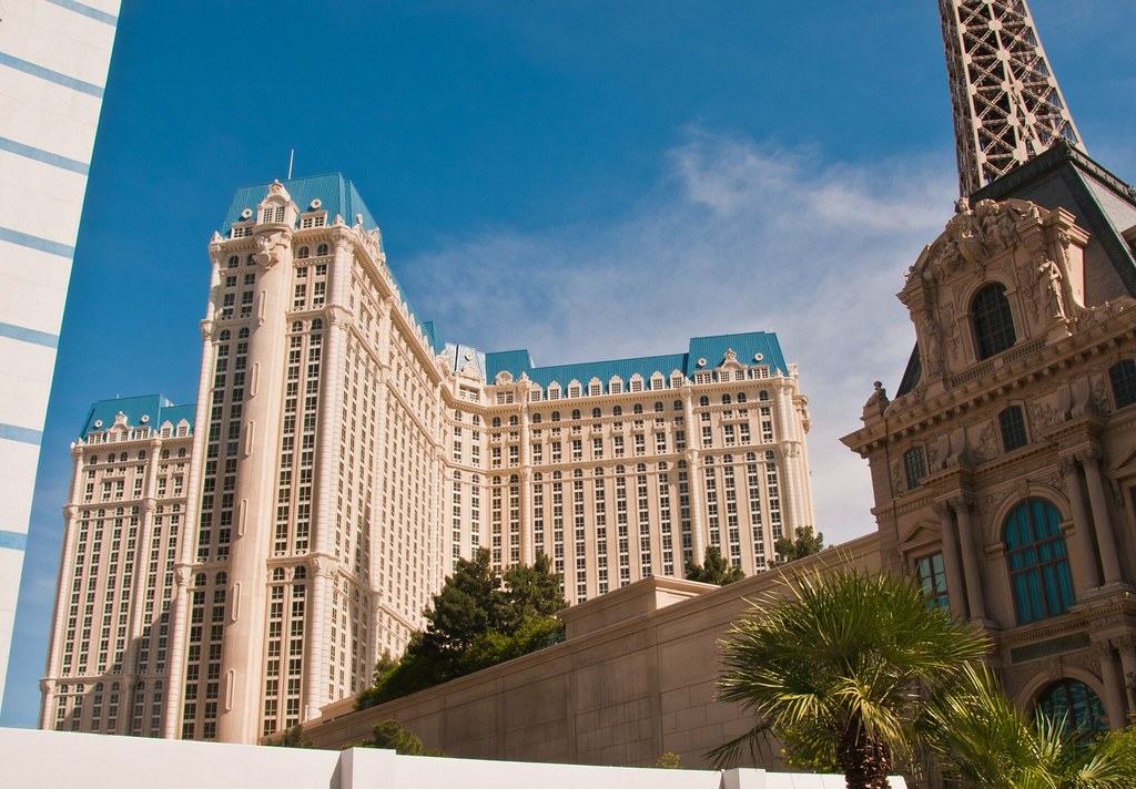 Paris, Las Vegas, the accommodation block