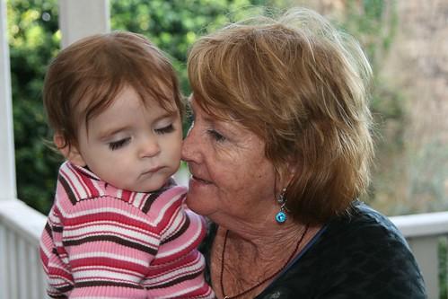 Cuddles with Nannie