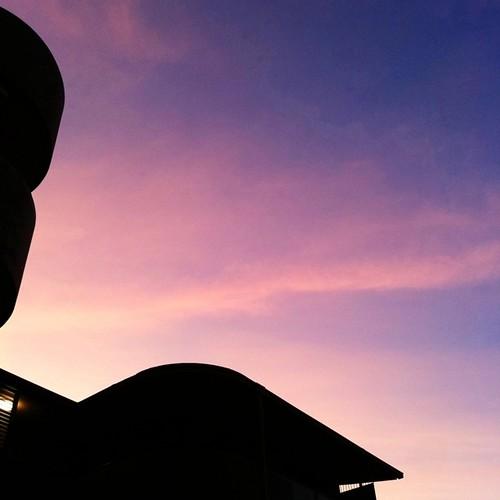 今日も一日、お疲れ様でした。 #sunset #iphonography #instagram