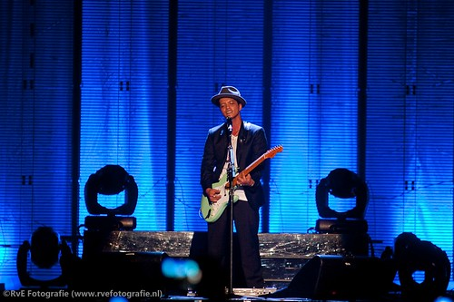 Bruno Mars in de Heineken Music Hall (05-07-2011).