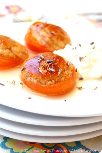 Baked Apricots 2 bis The Rambling Epicure Rosa's Musings Rosa Mayland