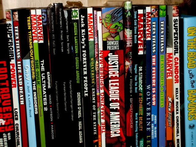 Trade Paperback Shelf!