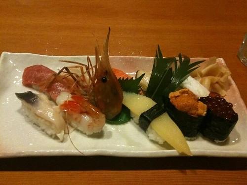 花ぶさの寿司一覧