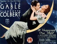 Claudette Colbert and Clark Gable in It Happen...