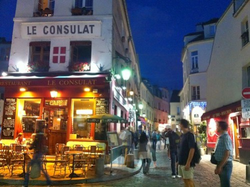 Place Tertre at Night
