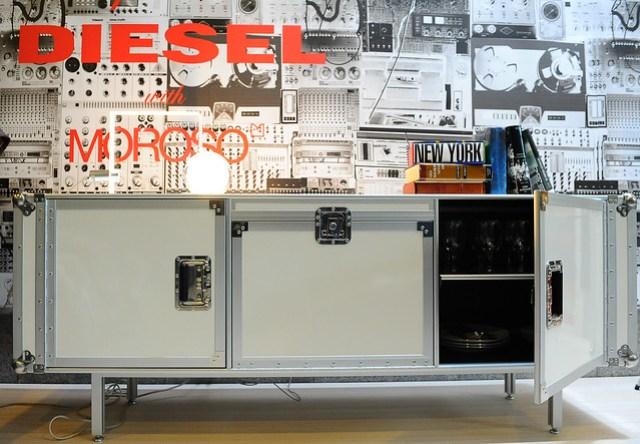 Flightcase storage unit