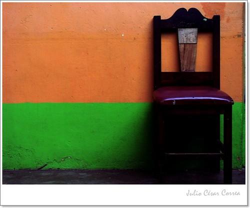 Sillas y silencios 1 by Julio César Correa