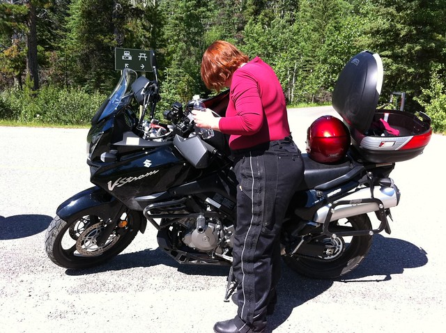 Louise and the VStrom