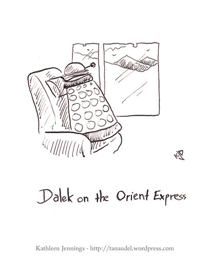 Dalek on the Orient Express