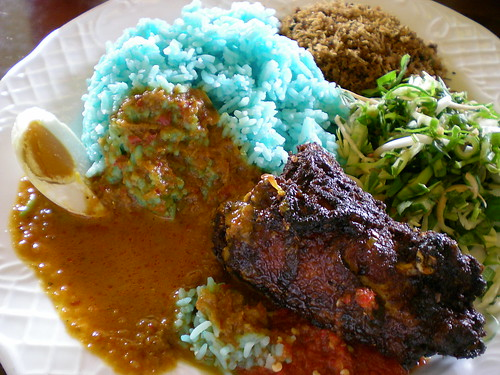 SriTanjung nasi kerabu chicken