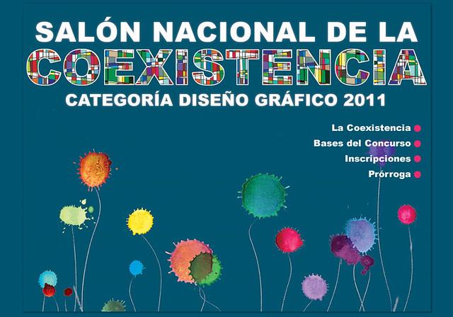 Salón Nacional de la Coexistencia - Convocatoria a diseñadores gráficos