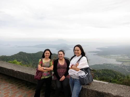 At Taal Volcano