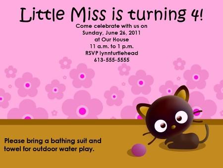 Kitty Invites