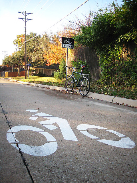 North Collins Bike Lane